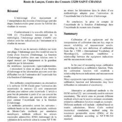 thumbnail of 2015_comparaison-de-methodes-pour-lestimation-de-lincertitude-sur-une-fonction-detalonnage_cim