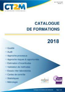 thumbnail of Catalogue_formations_CT2M_2018
