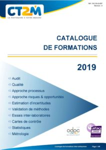thumbnail of Catalogue de formations inter entreprises 2019