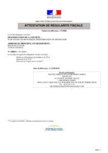 thumbnail of IMPOTS – Attestation régularité fiscale 21-09-18