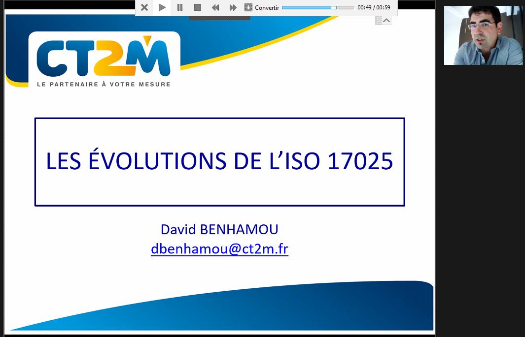 Retour sur les formations en ligne à l'ISO 17025 : 2017
