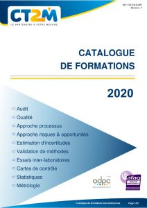 thumbnail of Catalogue de formations inter entreprises 2020