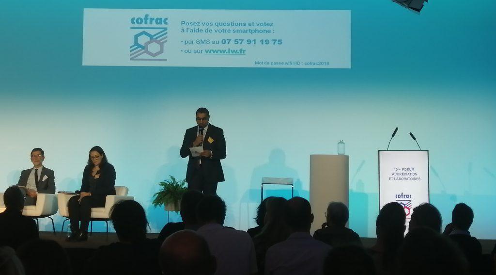 Le CT2M était présent au forum accréditation