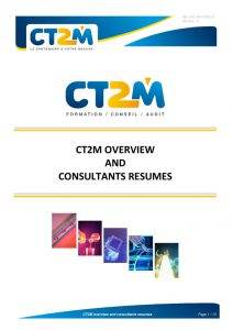 thumbnail of CT2M overview and consultants resumes