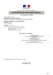 thumbnail of IMPOTS – Attestation régularité fiscale 20-01-20